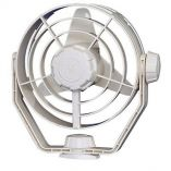 Hella Marine 2Speed Turbo Fan 12v White-small image