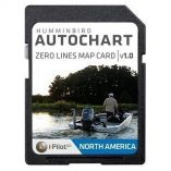 Humminbird AutoChart Zero Lines Map Card - Mapping & Cartography-small image