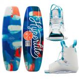 Hyperlite Divine Wakeboard 128cm WAllure Boot 2021 Edition-small image