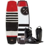 Hyperlite Franchise Wakeboard 138 Cm WFrequency Boot 2019 Edition-small image