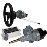 Intellisteer Type S FStraight Shaft Helms FCable Steered Boats WDash Mounted Wheel-small image