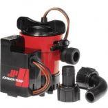 Johnson Pump Cartridge Combo 1000gph Auto Bilge Pump WSwitch 12v-small image