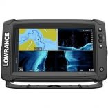 Lowrance Elite-9 Ti Combo w/Active Imaging 3-in-1 Transom Mount Transducer  US/Canada Nav+ Chart-small image