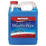 Mothers Marine Wash'n Wax Liquid Soap - 32oz - Boat Cleaning Supplies-small image