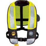 Mustang Md3183 T3 High Visibility Inflatable Pfd WHit-small image