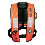 Mustang Inflatable Work Vest with HIT Orange - Life Vest Survival Suit-small image