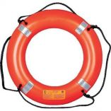 "Mustang 30"" Life Ring with Tape - Orange - Life Vest Survival Suit-small image"