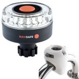 Navisafe Navilight 360 Degree 2nm WNavibolt Base Rail Mount White-small image