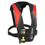 Onyx AM24 Series All Clear AutomaticManual Inflatable Life Jacket BlackRed Adult-small image