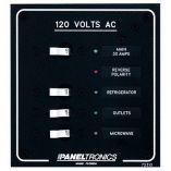 Paneltronics Standard Ac 3 Position Breaker Panel Main WLeds-small image
