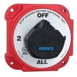Perko Heavy Duty Battery Selector Switch WAlternator Field Disconnect-small image