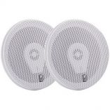 PolyPlanar Ma8505w 5 ThreeWay Titanium Series Marine Speakers White-small image