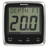 Raymarine I50 Depth Display System WThruHull Transducer-small image