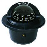 Ritchie F50 Explorer Compass Flush Mount Black-small image