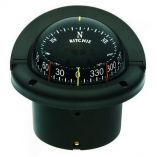 Ritchie Hf743 Helmsman Combidial Compass Flush Mount Black-small image