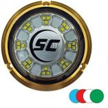 ShadowCaster Scr24 Bronze Underwater Light 24 Leds Full Color Changing-small image