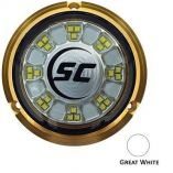 ShadowCaster Scr24 Bronze Underwater Light 24 Leds Great White-small image