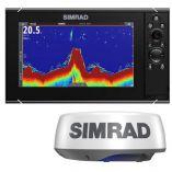 Simrad Nss9 Evo3s Combo Radar Bundle WHalo20-small image