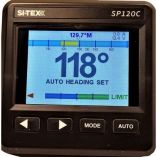 SiTex Sp120 Color System WRudder Feedback Type S Mechanical Dash Drive-small image