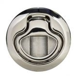 Southco Flush Pull Latch Pull To Open NonLocking Polished Stainless Steel-small image