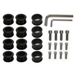 Surfstow Suprax Parts Kit 12Bolts, 3 Sizes Of Inserts, 2Allen Wrenches-small image