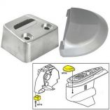 Tecnoseal Anode Kit w/Hardware - Volvo SX - Zinc - Anodes for Boats-small image