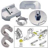 Tecnoseal Anode Kit WHardware Mercury Alpha 1 Gen 2 Aluminum-small image
