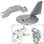 Tecnoseal Anode Kit WHardware Yamaha 150200hp Zinc-small image