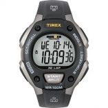 Timex Ironman Triathlon 30 Lap Grey/Black - Waterproof Fitness Watches-small image