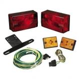 Wesbar Submersible Over 80 Taillight Kit WSidemarkers-small image