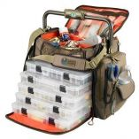 Wild River Frontier Lighted Bar Handle Tackle Bag W5 Pt3700 Trays-small image