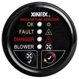 Xintex Gasoline Fume Detector Blower Control WPlastic Sensor Black Bezel Display-small image